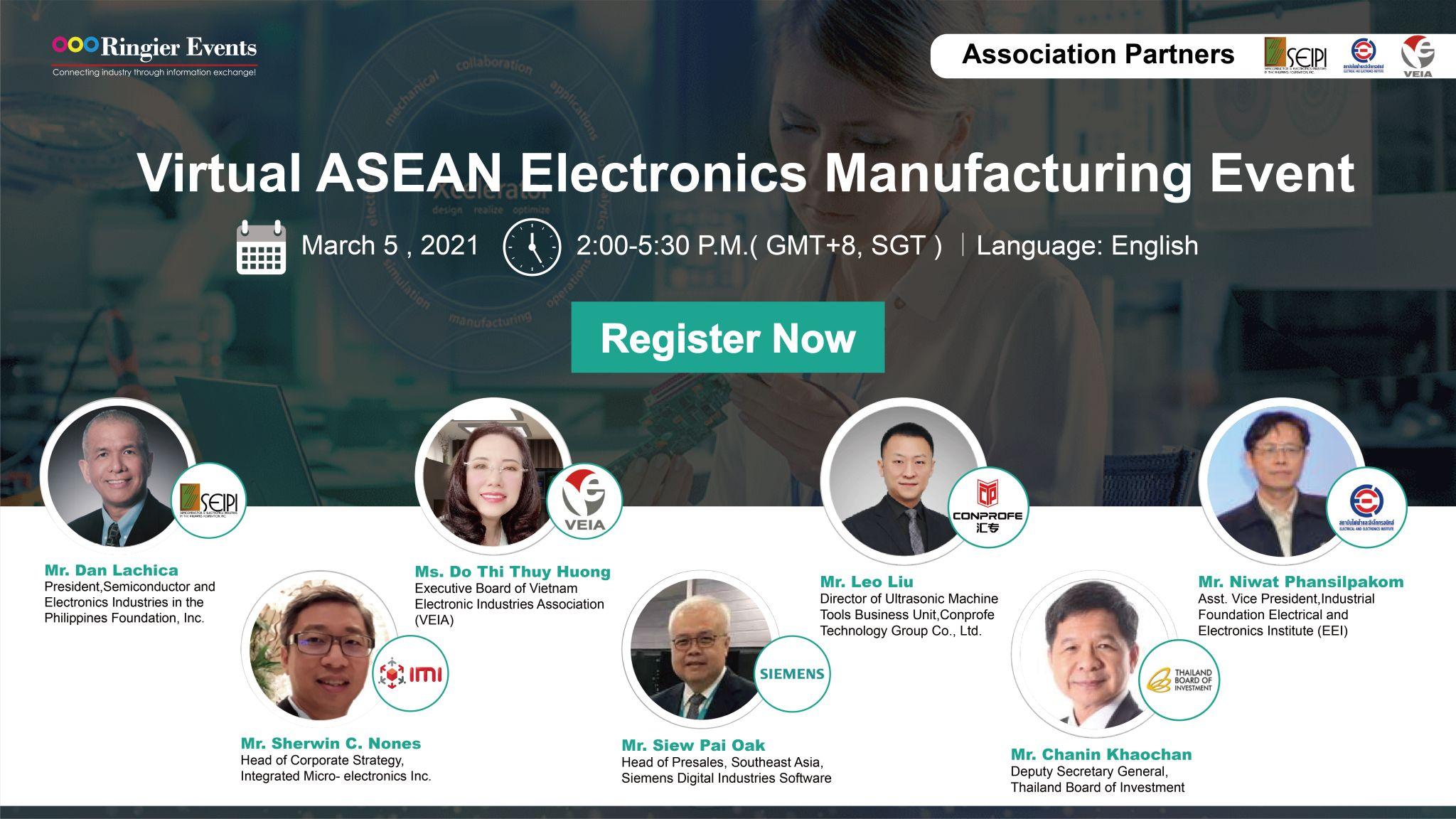 ASEAN Electronics Manufacturing Event
