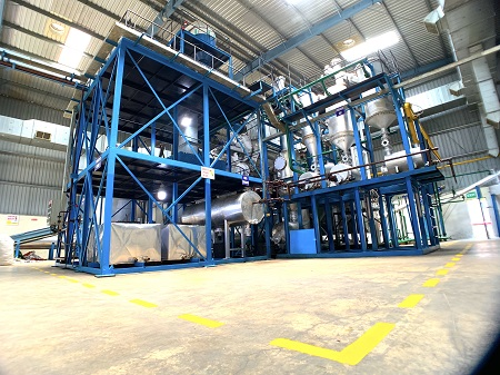 Pyrolysis technology in efficient recycling operation