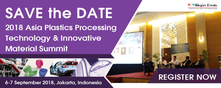 ASIA Plastics Processing Technology and Innovative Materials Summit 2018