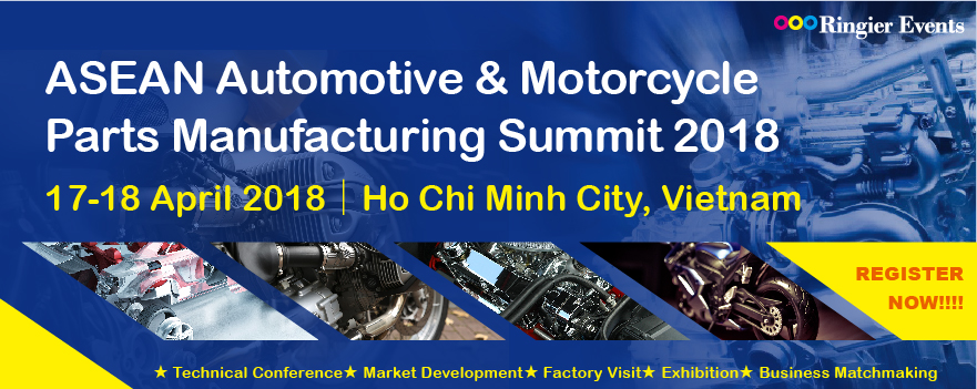 ASEAN Automotive & Motorcycle Parts Manufacturing Summit 2018