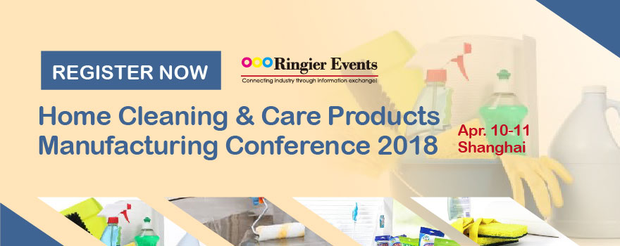 Home Cleaning & Care Products Manufacturing Conference 2018