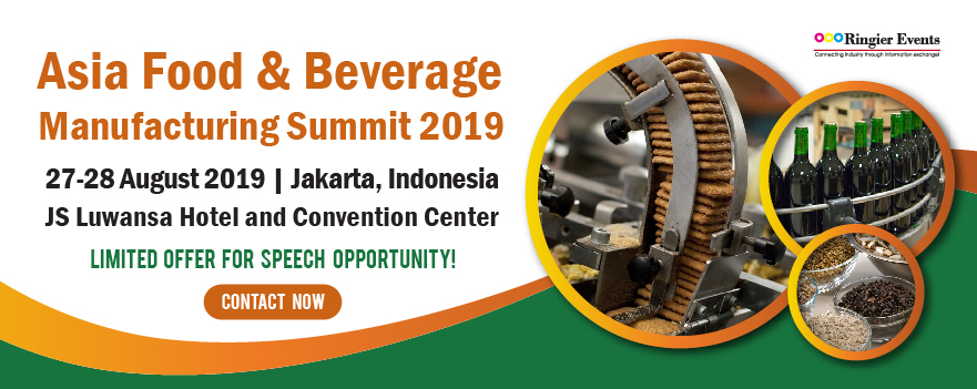 Asia Food & Beverage Manufacturing Summit 2019