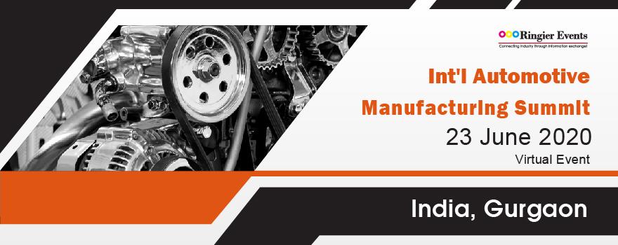 Int'l Automotive Manufacturing Summit 2020