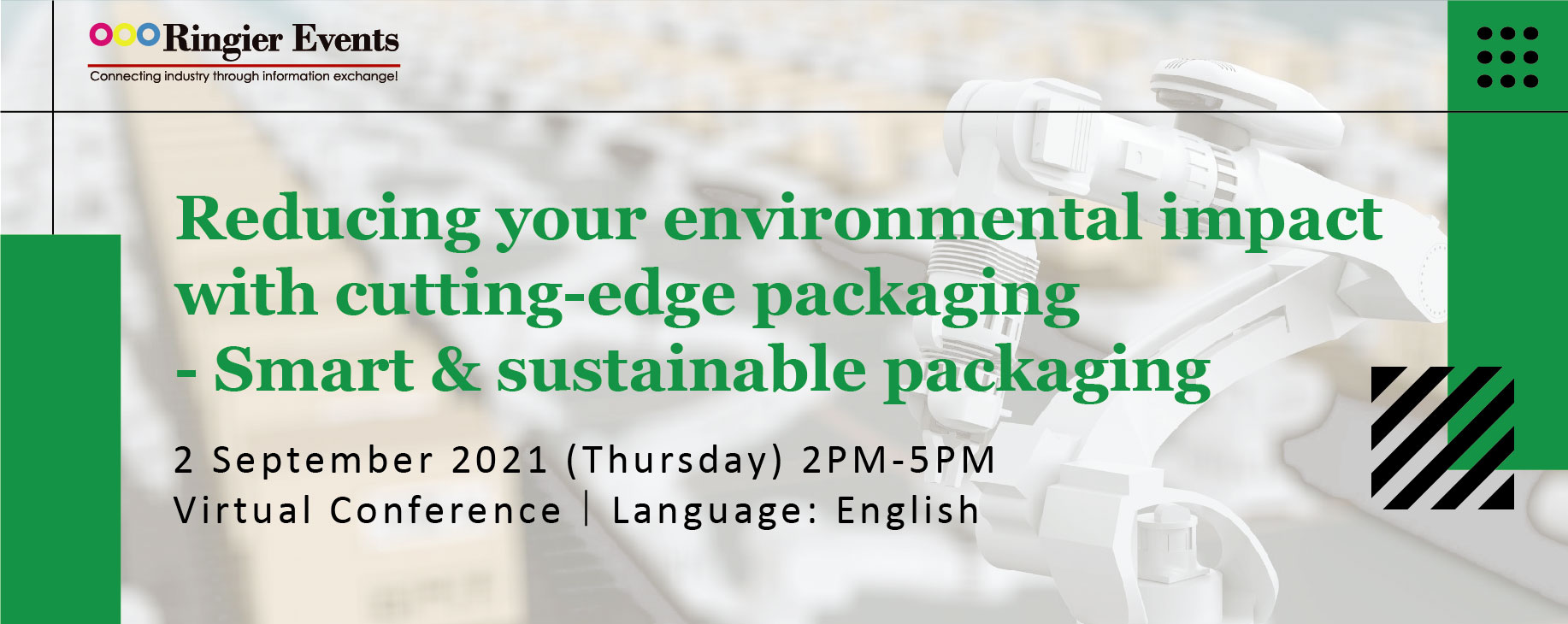 Reducing your environmental impact with cutting-edge packaging - Smart & sustainable packaging
