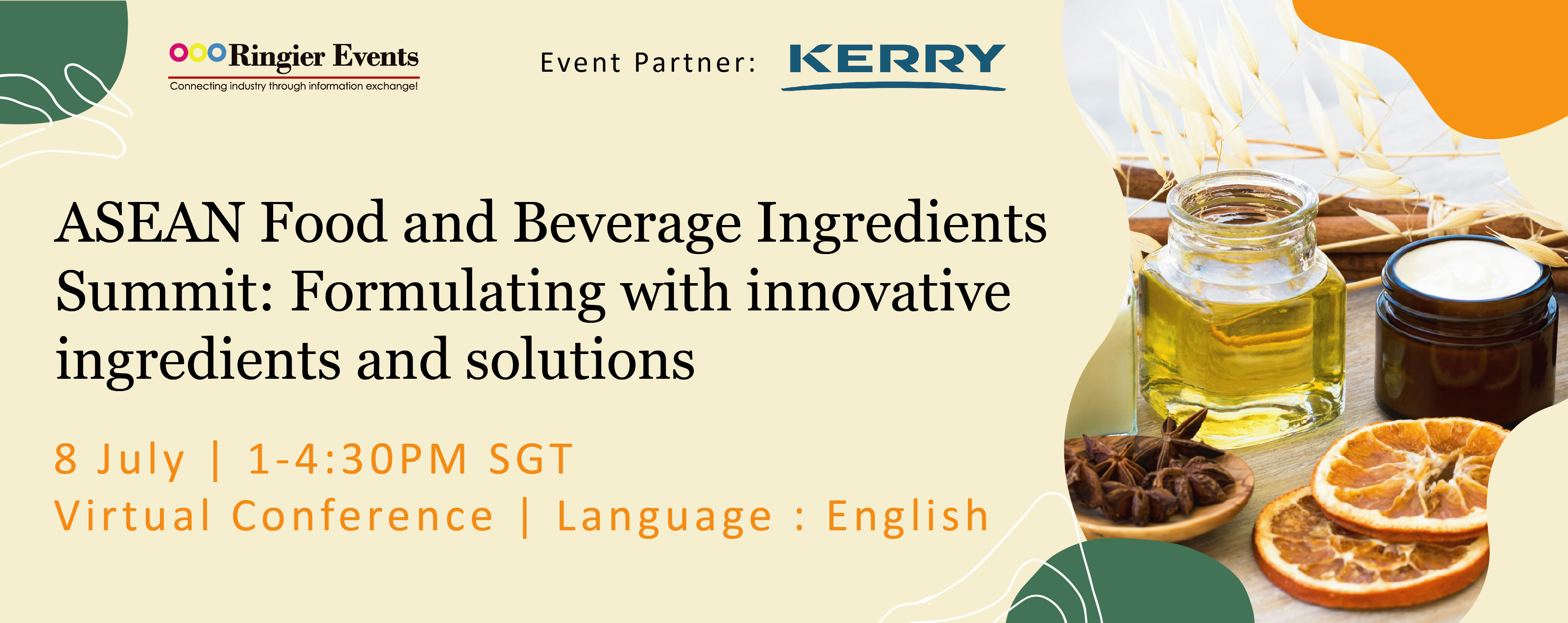 ASEAN Food and Beverage Ingredients Summit: Formulating with innovative ingredients and solutions