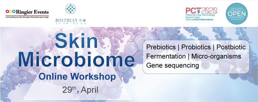 """Skin Microbiome"" Online Workshop (PCT2020)"