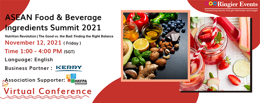 ASEAN Nutrition and Beverage Manufacturing Summit 2021
