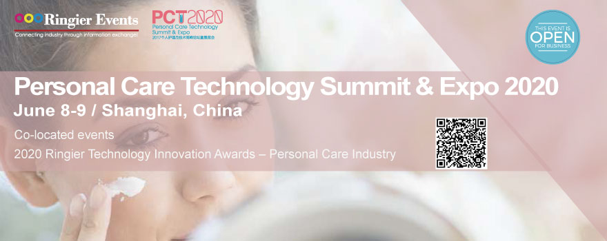 Personal Care Technology Summit & Expo 2020