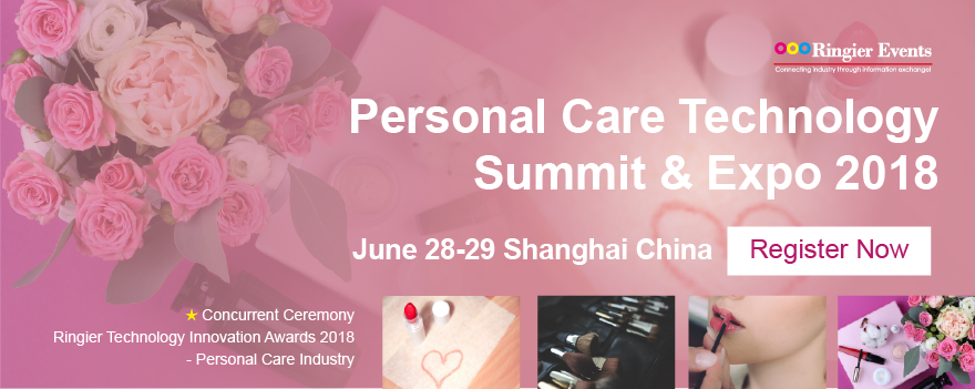 Personal Care Technology Summit & Expo 2018