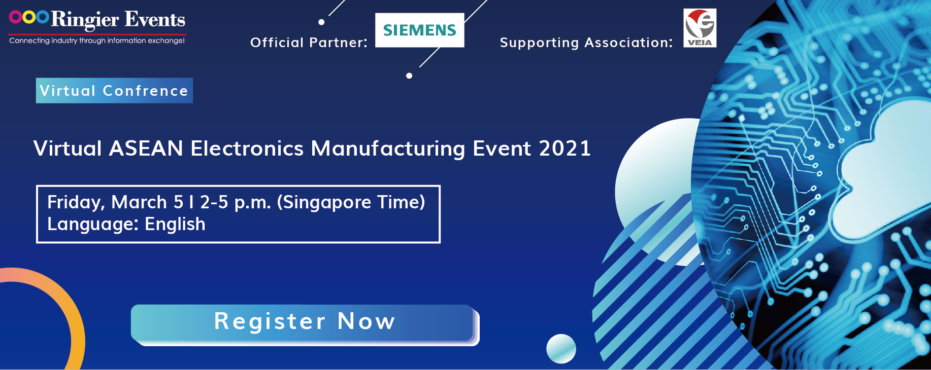 Virtual Electronics Manufacturing Event-- Digitalization Solution, Intelligent Forming Technology