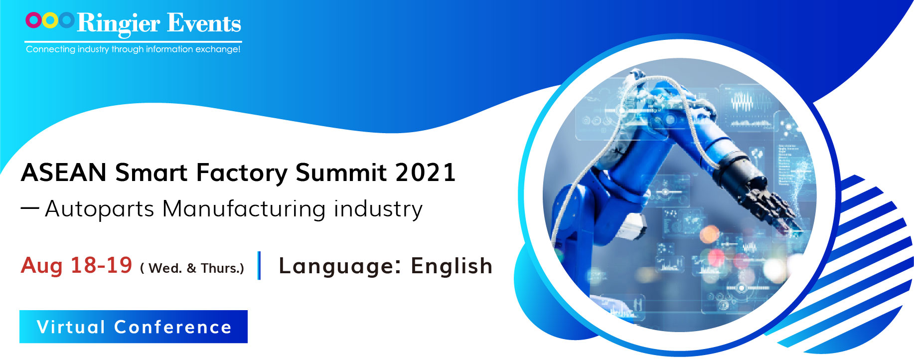 ASEAN Smart Factory Summit 2021- Autoparts Manufacturing industry