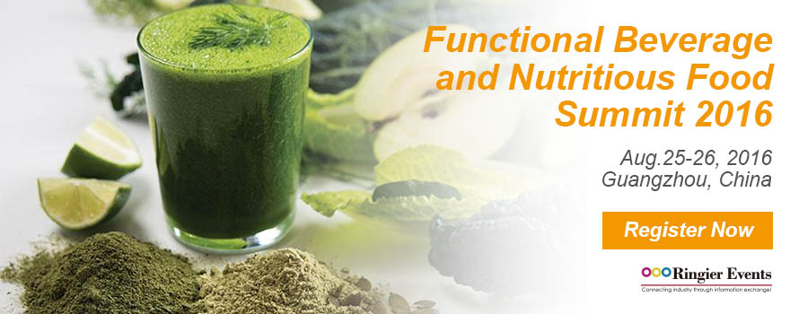 Functional Beverage and Nutritious Food Summit 2016