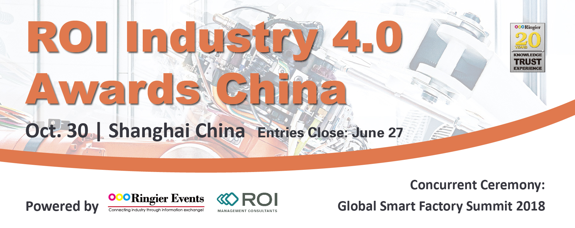 ROI Industry 4.0 Awards China