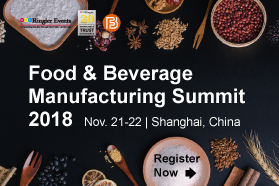 Food & Beverage Manufacturing Summit 2018