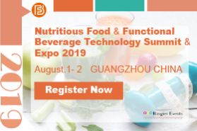 The 11th Nutritious Food & Functional Beverage Technology Summit & Expo 2019