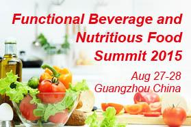 Functional Beverage and Nutritious Food Summit 2015
